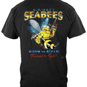 US NAVY Sea Bees Navy T Shirt