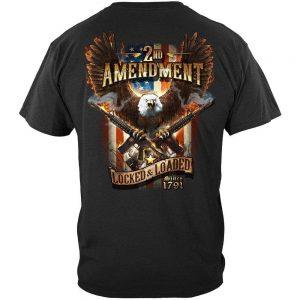 Second Amendment Apparel Eagle Guns T Shirt