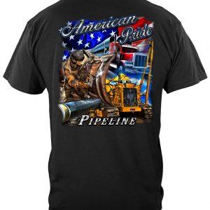 American Pride Pipeline T Shirt